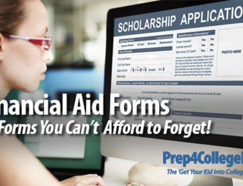 10 Financial Aid Forms You Can't Afford to Forget