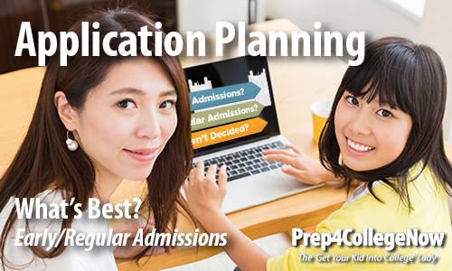 What Type of College Application Plan is Best for YOUR Teen?