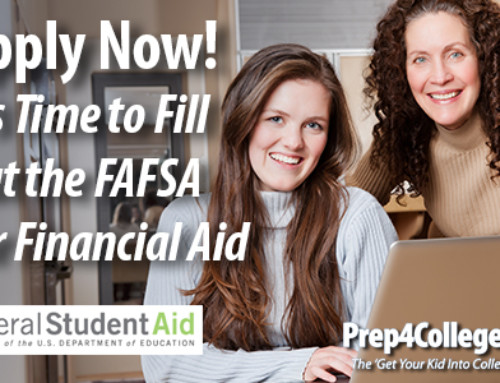 It is Time to Fill out the FAFSA for Financial Aid