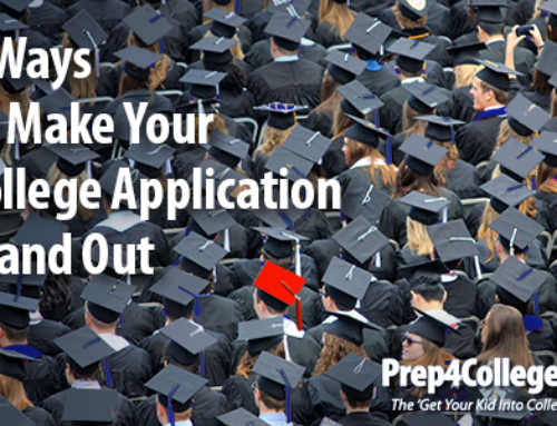 3 Ways to Make Your College Application Stand Out