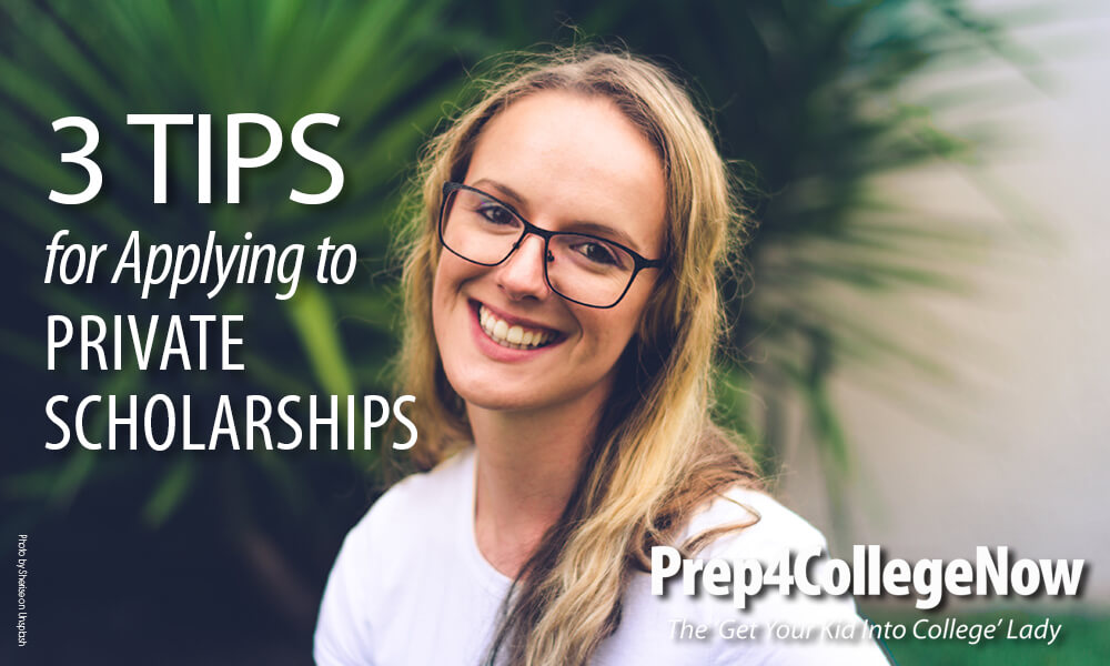 Applying for Private Scholarships