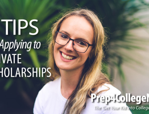 3 Tips for Applying to Private Scholarships